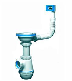 Оборудование для умывальника, оснащенного защитой от перелива