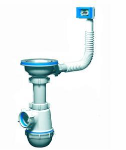 Устройство для ванны и мойки с функцией дополнительной защиты
