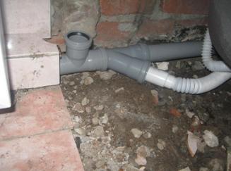 Как подключить устройство к канализационной сети
