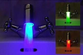 Устройство с дополнительной функцией – изменение цвета воды