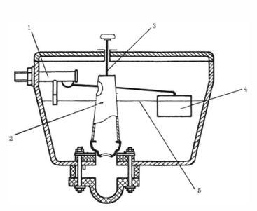 Арматура для туалета с боковой подводкой