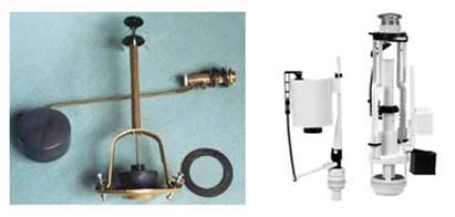 Виды арматуры в зависимости от материала, использованного для изготовления