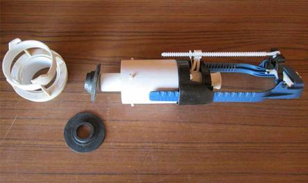Установка нового клапана на спусковой механизм