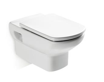 Конструкция унитаза Dama Senso белого цвета