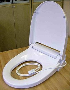 Сиденье крышка для унитаза с функцией подогрева