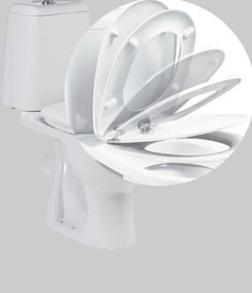 Сиденье, оборудованное системой плавного закрывания крышки