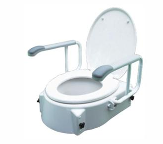 Специальное сиденье на унитаз для людей с ограниченными возможностями