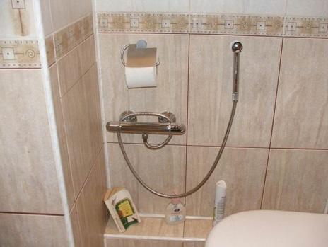 как установить душ