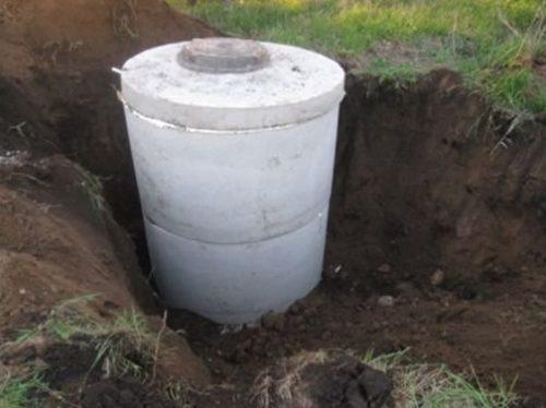 Септик для сбора канализационных вод