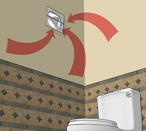 Организация местной вентиляции в санузле – лучший помощник в борьбе с конденсатом на бачке