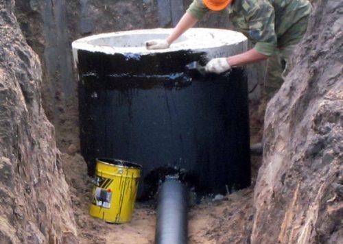 Использования битума для повышения уровня герметичности