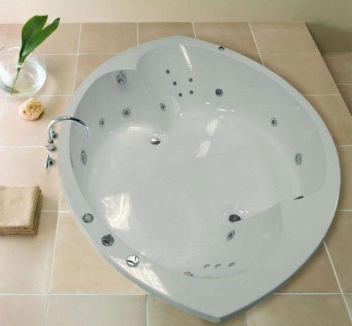 Ванна из акрила круглой формы