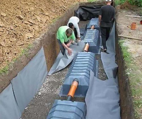 Без последовательного расположения нескольких емкостей не обойтись при значительном количестве сбрасываемых сточных вод