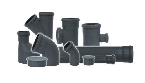 Основные составляющие части внутренней канализации