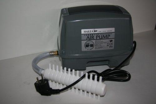 Соединение компрессора с аэратором, изготовленным в заводских условиях