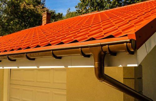 Система водоотведения с крыши