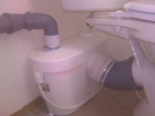 Подключение унитаза к канализационной установке