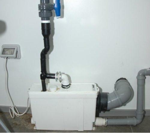 Устройство для перекачки сточных вод