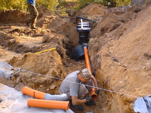 Дренажные трубы своими руками из канализационной трубы фото 961