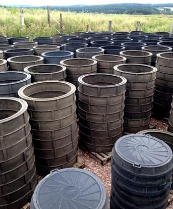 Пластиковые колодцы для канализационной системы