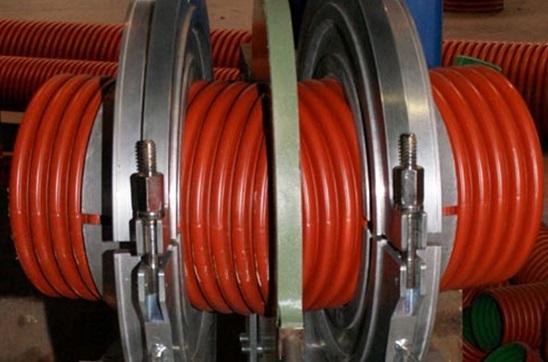 Использование муфты для сборки трубопровода