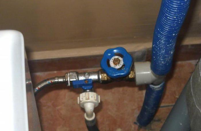 Технология подключения стиральной машины к водопроводу