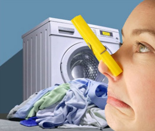 Бактерии – основная причина появления неприятного запаха из стиральной машины