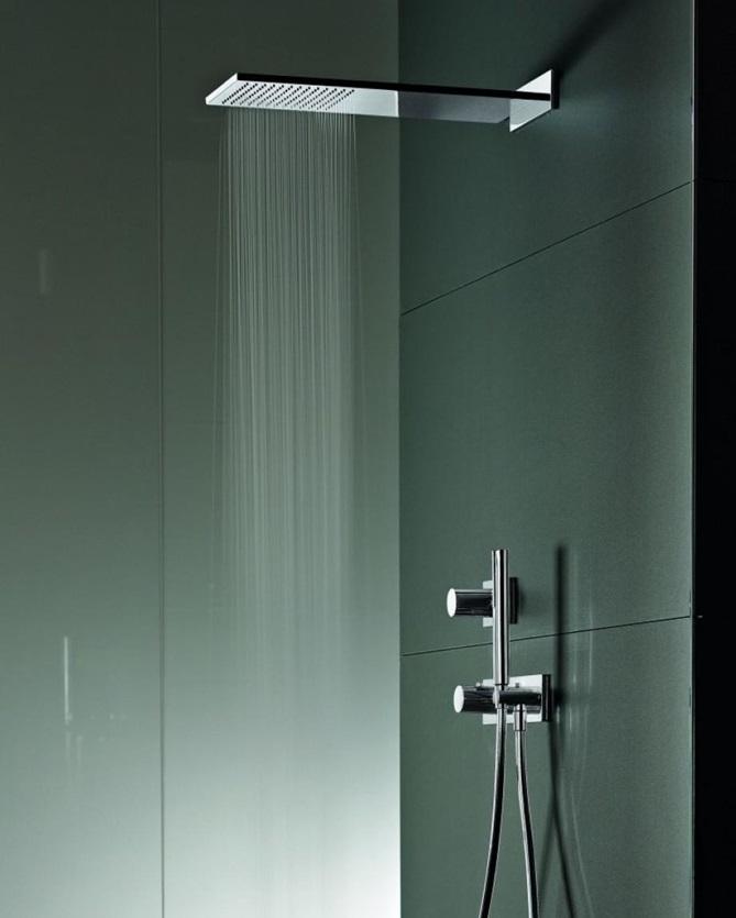 Скрытый монтаж смесителя в ванной