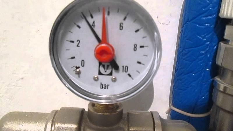Устройство для измерения давления внутри труб
