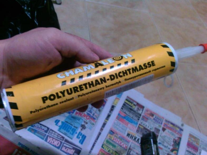 Состав для заделки швов на основе полиуретана