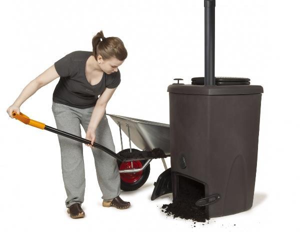 Модель с термозащитной емкостью и упрощенной системой очистки