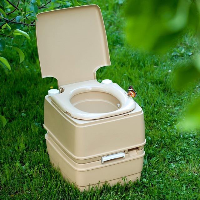 Простейший биотуалет для садового участка