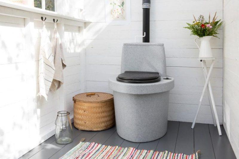 Компостный туалет для загородного дома
