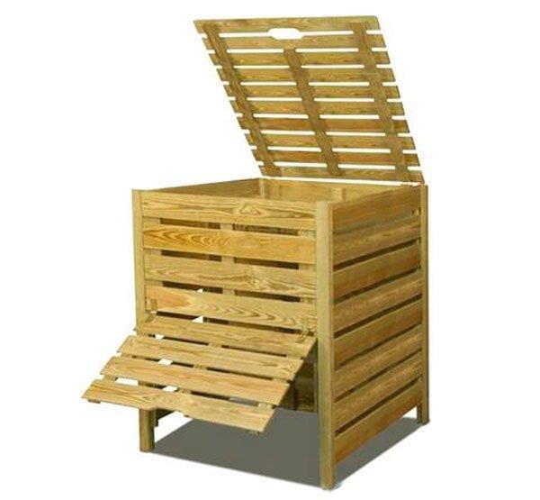 Конструкция для самостоятельного изготовления компоста