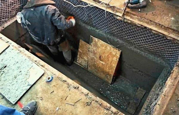 Изготовление из бетона