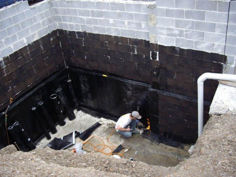 Защита подвального помещения от грунтовых вод
