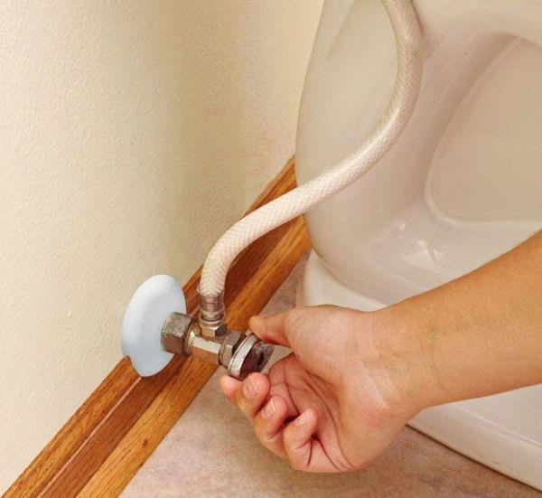 Перекрытие водоснабжения отдельным краном