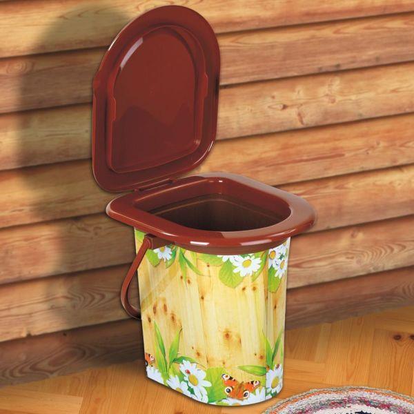Легкий туалет для дачи