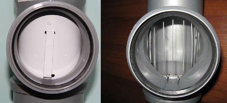 Разновидности ограничительных заглушек для канализации