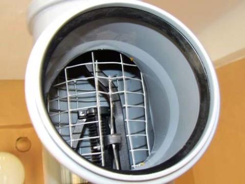 Полное перекрытие канализационной трубы