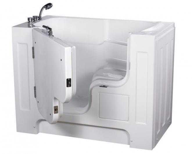 Ванна с дверцей