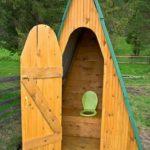 Выбор конструкции туалета для дачи