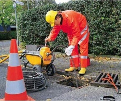 Прочистка дождевой канализационной сети