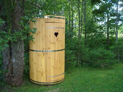 Летний душ для приусадебного участка