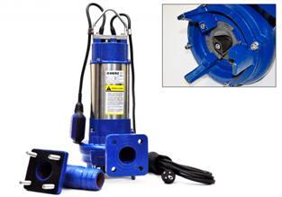 Оборудование с измельчителем для откачки стоков