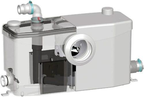 Устройство для отвода стоков, оборудованное измельчителем
