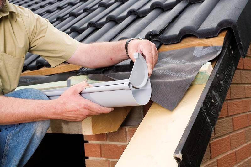 Водоотливы для крыши монтаж своими руками фото