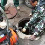 Очистка канализационных колодцев: способы и описание
