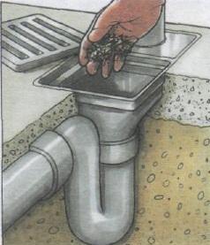 Очистка дождеприемника