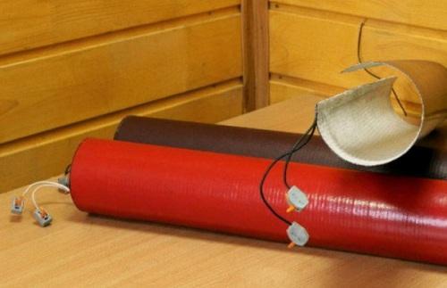 Пленочный обогрев для труб